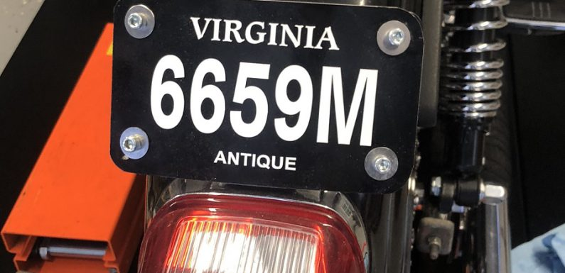 Registering an Antique Motorcycle