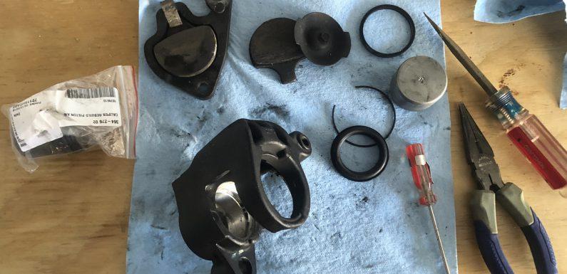 Front Brake Caliper Rebuild…
