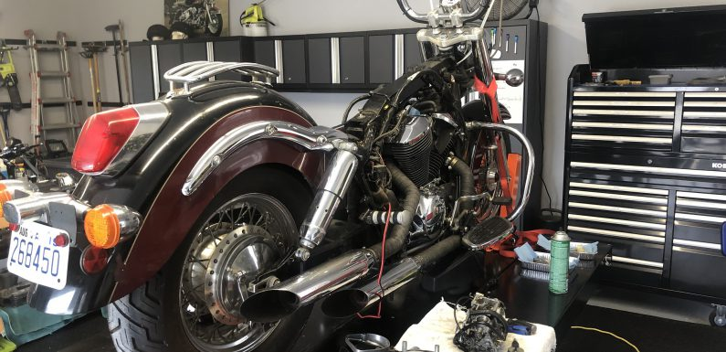 Honda Shadow Carb…