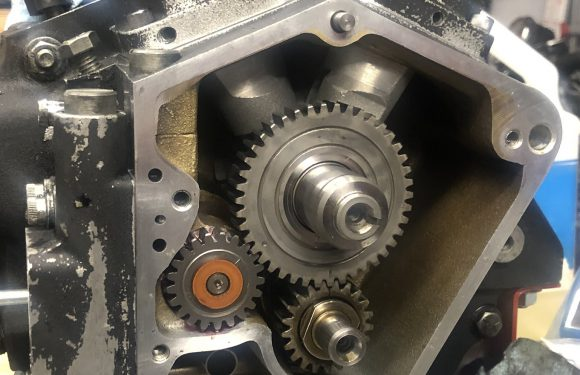 Cam Gear, Tappet Guides, Oil pump…