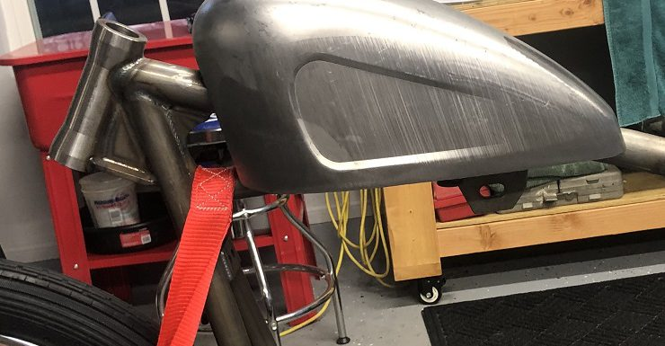 Removed the tank mounts…