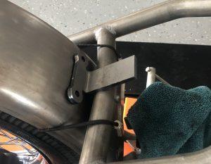 Rear fender bracket