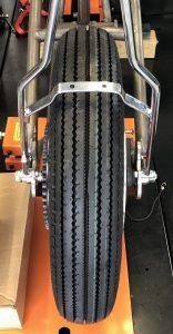 Rear Wheel centered