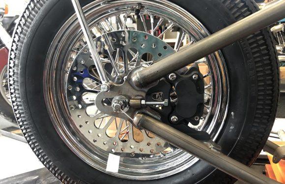 Rear wheel…