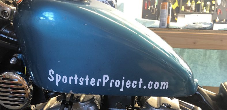 Sportster Project Decals…