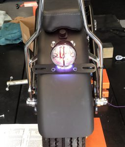 Tail light works!!!