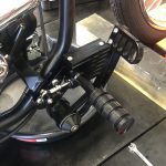 Foot controls - Rear Brake