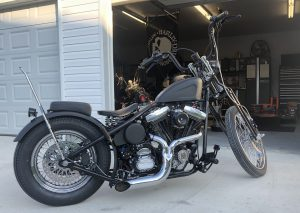 1992 Harley Davidson Evolution Powered Hardtail Garage Built Bike