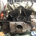 1988 Sportster Engine - Cam Side