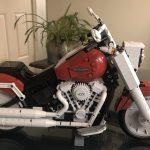 Lego Harley Davidson Fat Boy Build...