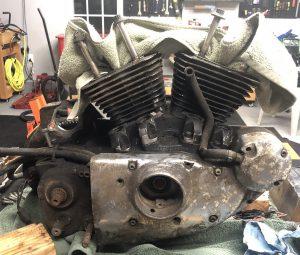 1988 Sportster Engine - Cam Side