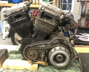 1988 Sportster Engine - Primary Side