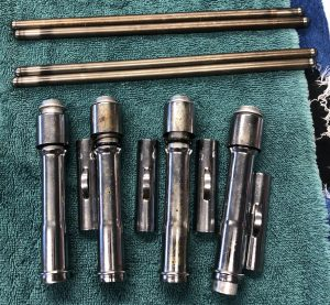 Sportster pushrods, covers, and tubes