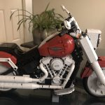 Lego Harley Davidson Fat Boy Build...