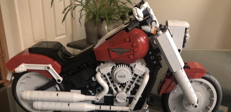 Lego Harley Davidson Fat Boy Build…