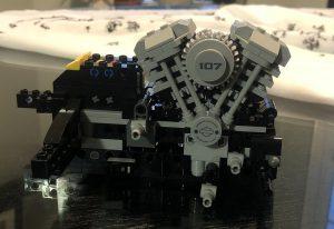Lego Harley Davidson Fat Boy - Bag 1 - Engine