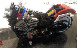 Lego Harley Davidson Fat Boy - Bag 2 - Rear Wheel and Fender