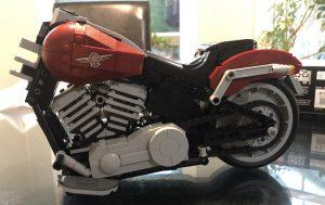 Lego Harley Davidson Fat Boy - Bag 3 - Tank and Primary