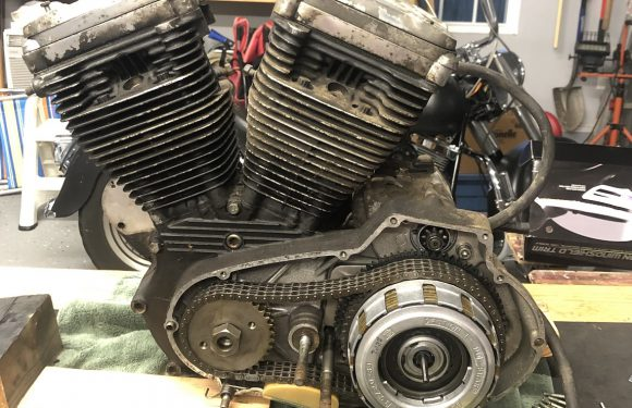 And so it begins… again… 1988 Sportster Project