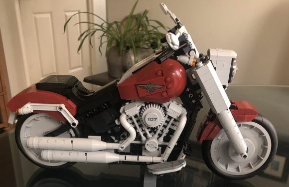 Lego Harley Davidson Fat Boy Build…