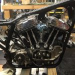 1988 Sportster Engine in Frame