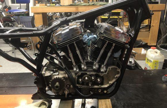 Engine meet frame…