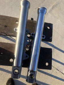 Fork lower polished
