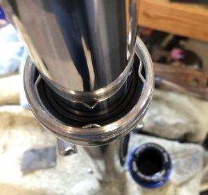 Fork Seals Installed