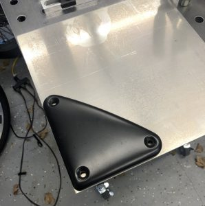 Tracing the ignition module cover