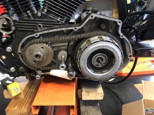 Sportster Primary - Chain and clutch.