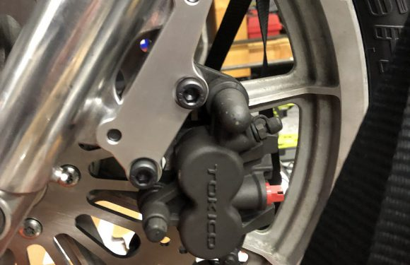 We have front brakes……
