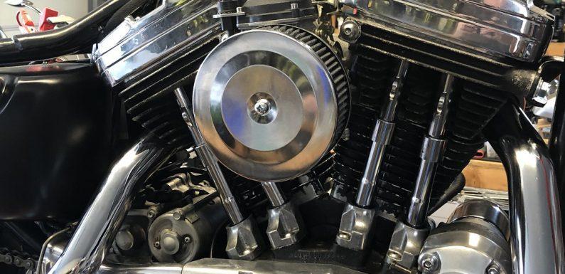 DIY Sportster carburetor air cleaner…