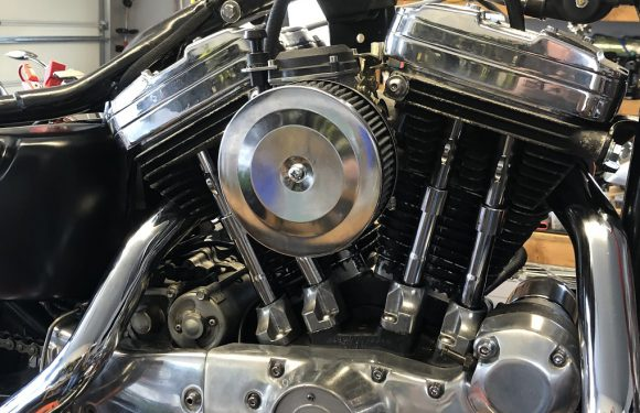 DIY Sportster carburetor air cleaner…