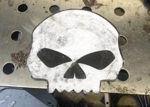 Willie G Skull - Template