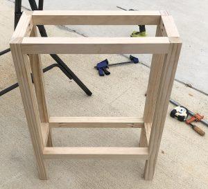 Plant Table - Assembling the Base