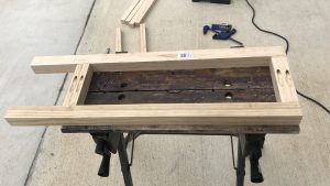 Plant Table - Assembling the Sides
