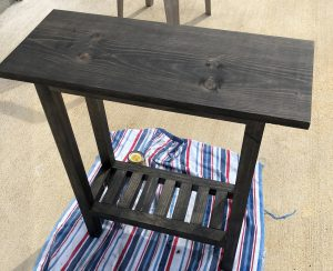 Plant Table - Stained