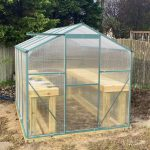 DIY Backyard Greenhouse Kit Build