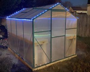 Greenhouse Solar Lights