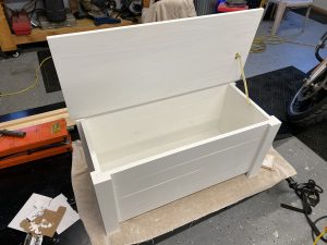 Farmhouse Toy Box - Painted