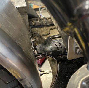 Bobber Cycles - Rear Fender Mount