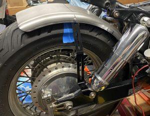 Bobber Cycles - Rear Fender Strut