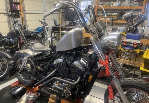 Honda Shadow Project Progress 03/03/2021