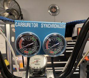 Dual Carb Sync Vacuum Gauges
