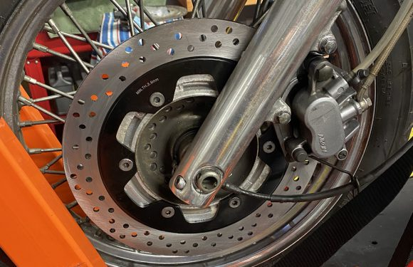 Make it Stop… Front Brakes
