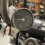 Sportster 2:1 Mini-Speedometer