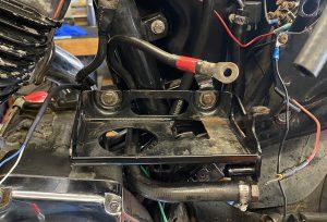 Battery Tray Mount Repair