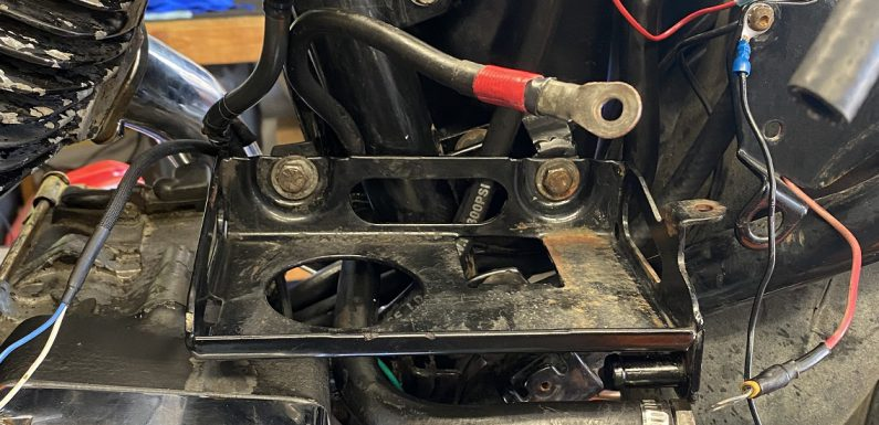 Battery Tray Mount Repair…