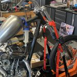 Sportster Front Forks and Wheel