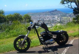 Picture of the 88 Sportster taken in Hawaii circa 2004